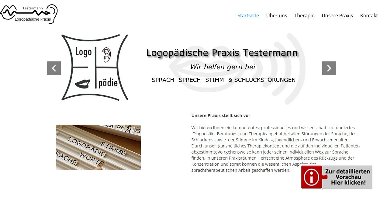 Template Praxis Logopädie