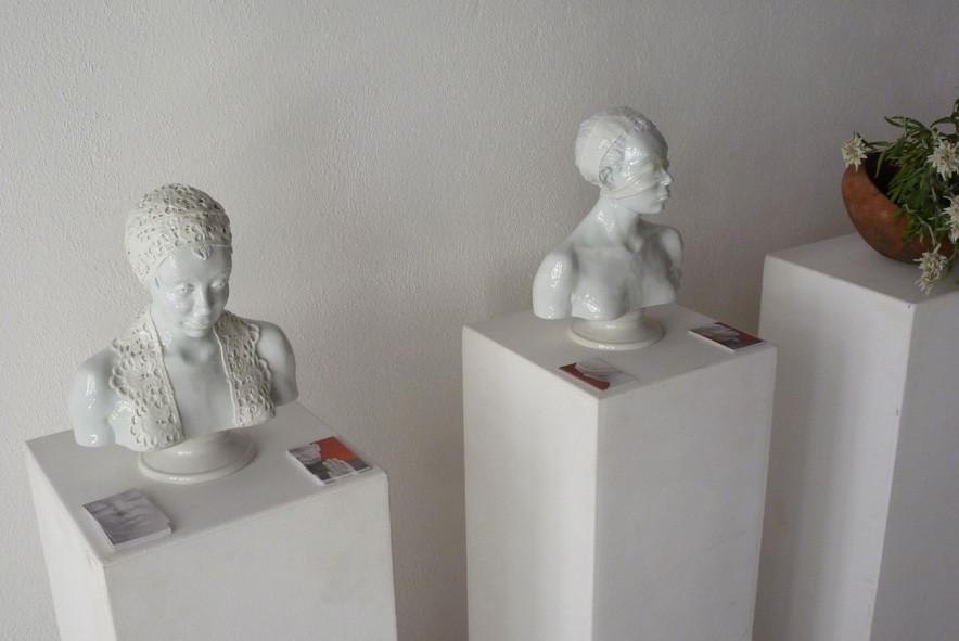 Einblick in die Ausstellung 4 (Arbeiten von Olaf Stoy)