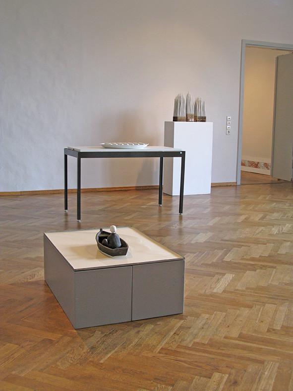 Im grossen Saal: Werke von Olaf Stoy und Else Gold
