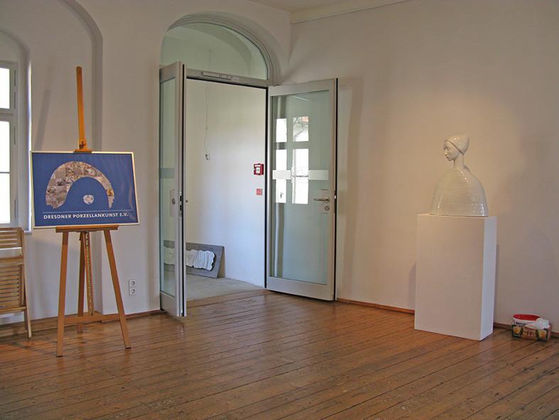 Foyer mit einer Büste von Malgorzata Chodakowska