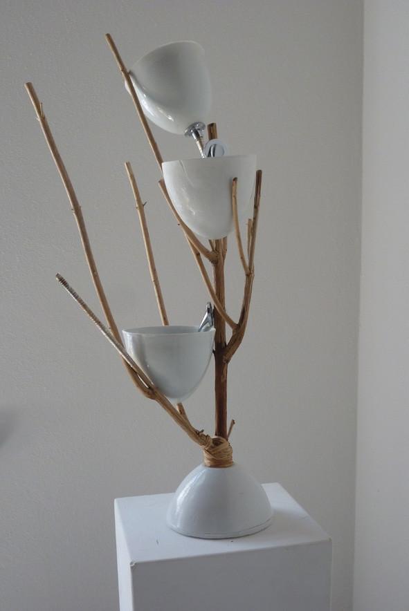 Einblick in die Ausstellung 5 (Arbeit von Birgit Schulze)