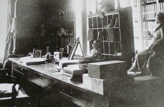 Brunner's Study and Working Room