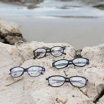 Brillen am Strand