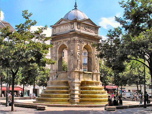 Fontaine des Saints Innocents à Paris