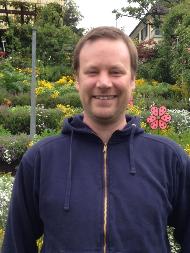 Michael Deiss, gelernter Gärtner und Arealchef im Areal Tobelegg