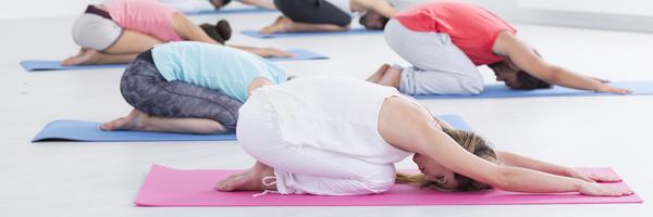 Yoga Unterricht Yoga Kurs Balasana Kindhaltung