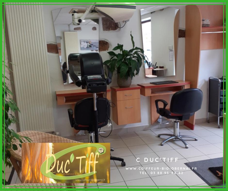 C Duc'Tiff, le salon de coiffure bio à Obernai se refait une beauté !