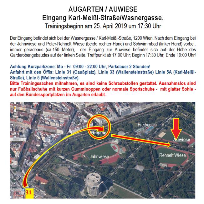 Plan Auwiese