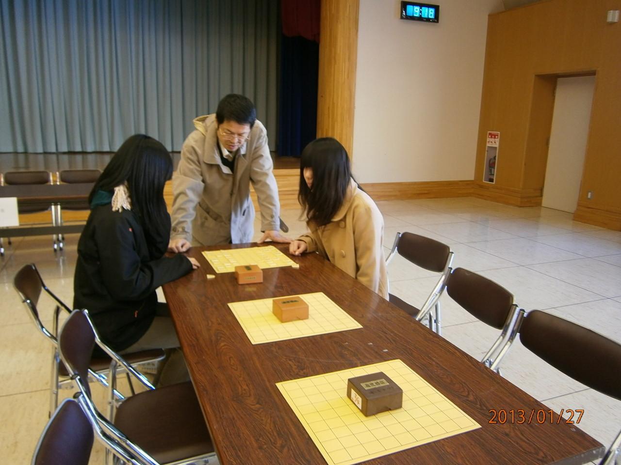 野沢南高からは将棋を始めたばかりのフレッシュ女子が参戦です!