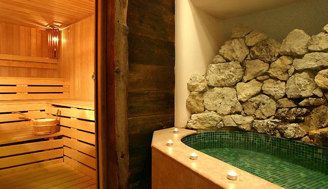 Finnische Sauna im Hotel Plan De Gralba