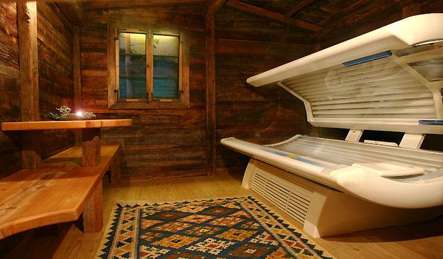 Solarium im Hotel Plan De Gralba