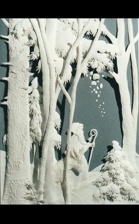 Leise rieselt der Schnee, 17 x 23, CHF 2'100.-