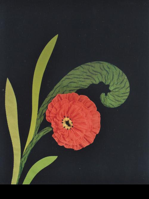 Textilbild Nr. 4, 59 x 72, CHF 2'000.--