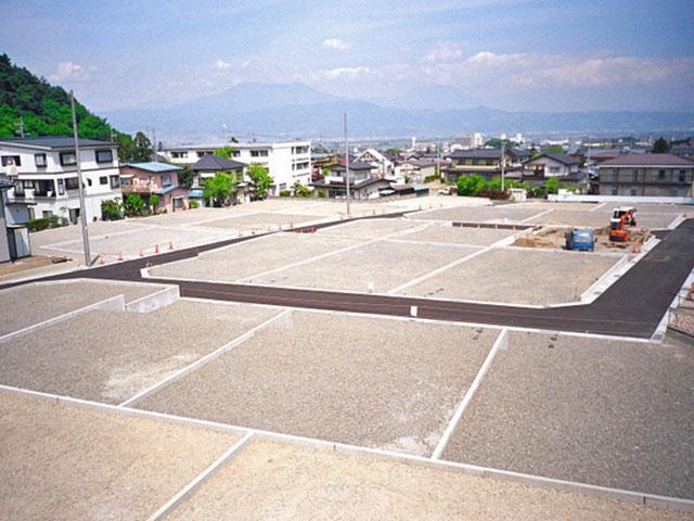 工場跡地を28区画の宅地へ開発・造成・販売