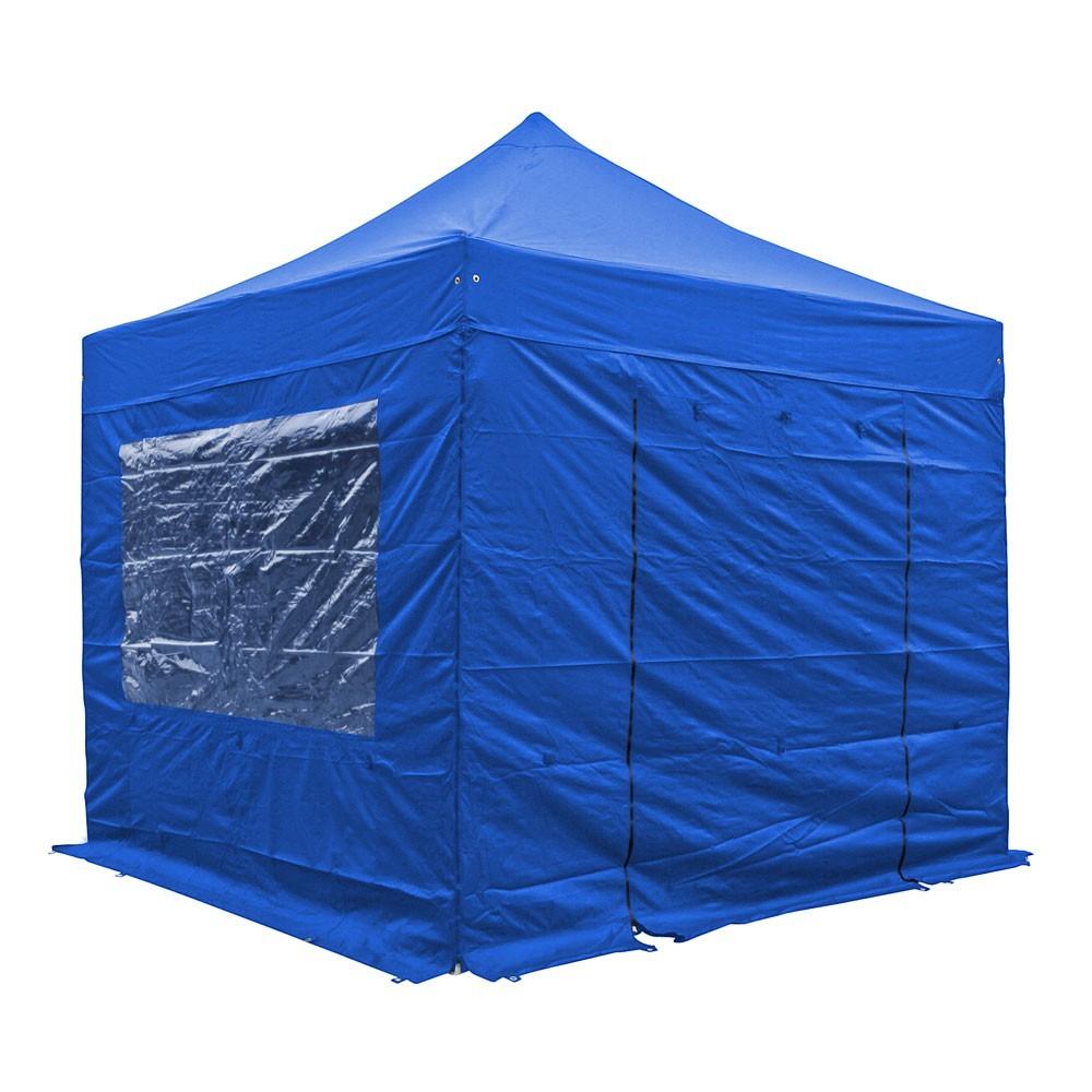 tenda a gazebo con teli laterali