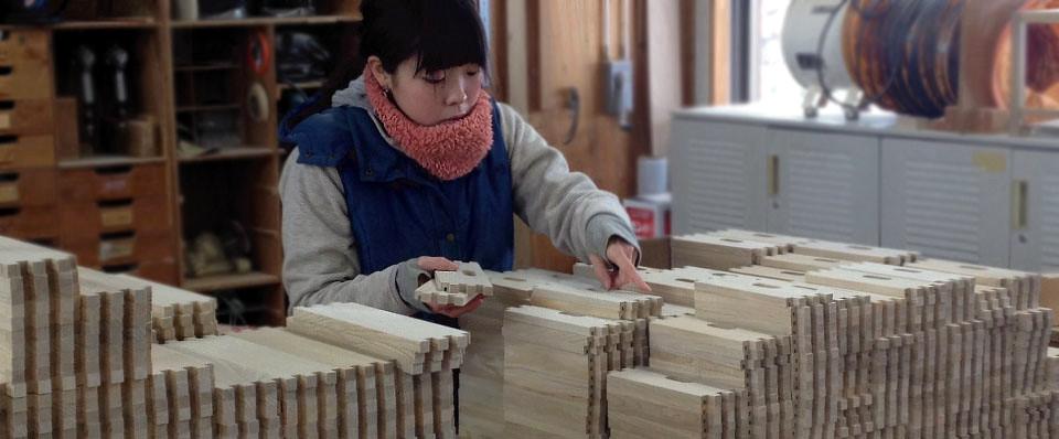 森林たくみ塾の制作実習。数モノをこなす。
