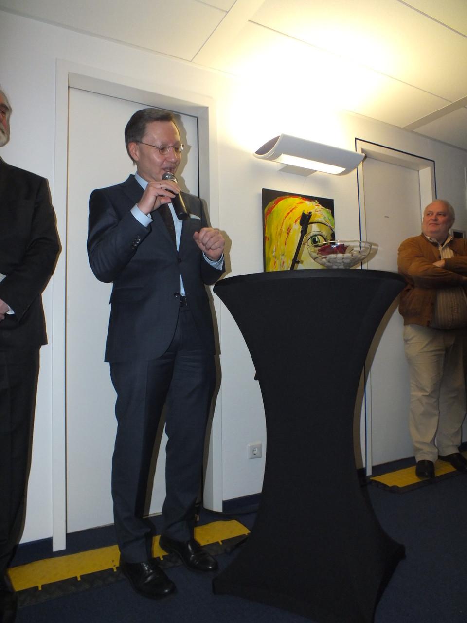 Robert Restani, Vorstandsvorsitzender der Frankfurter Sparkasse