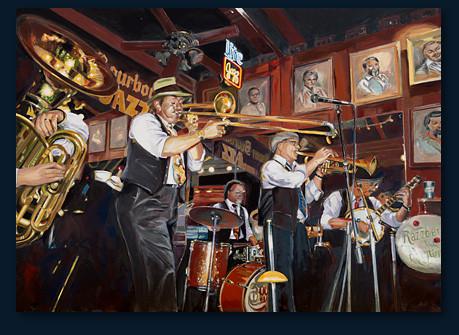 Vanila Bourbon Jazz Band