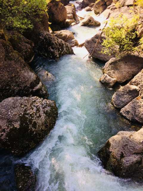 Buchenegger Wasserfälle Oberstaufen Steibis