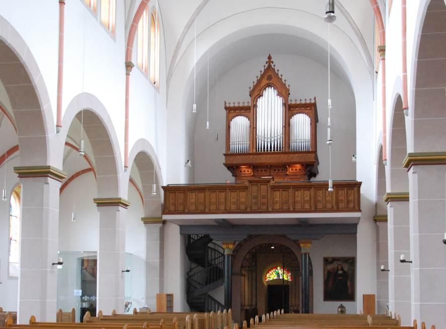 Die restaurierte Klais-Orgel in Waldbreitbach