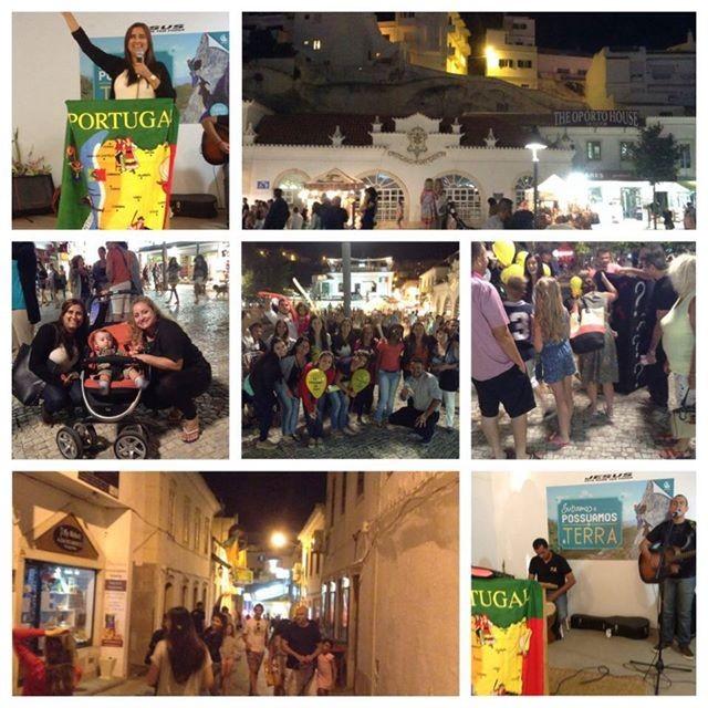evangelismo com equipe da Jocum Lisboa