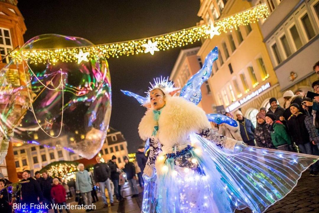 Seifenblasen auch im Winter... Elfe & Troll machen's möglich!