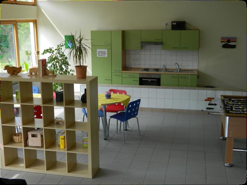 Schüler-Aufenthaltsraum