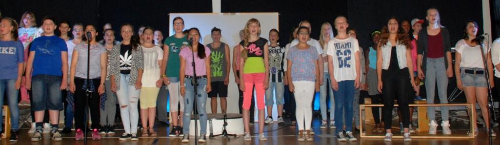 ... und die Aufführungen der Musical - AG