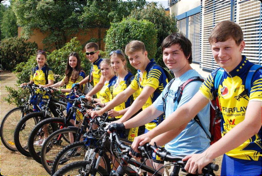 Finanzielle Unterstützung bei der Tour de Europe