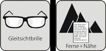 Symboldbilder Gleitsichtbrille