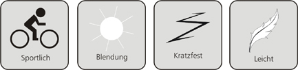 Symboldbilder Sportbrille