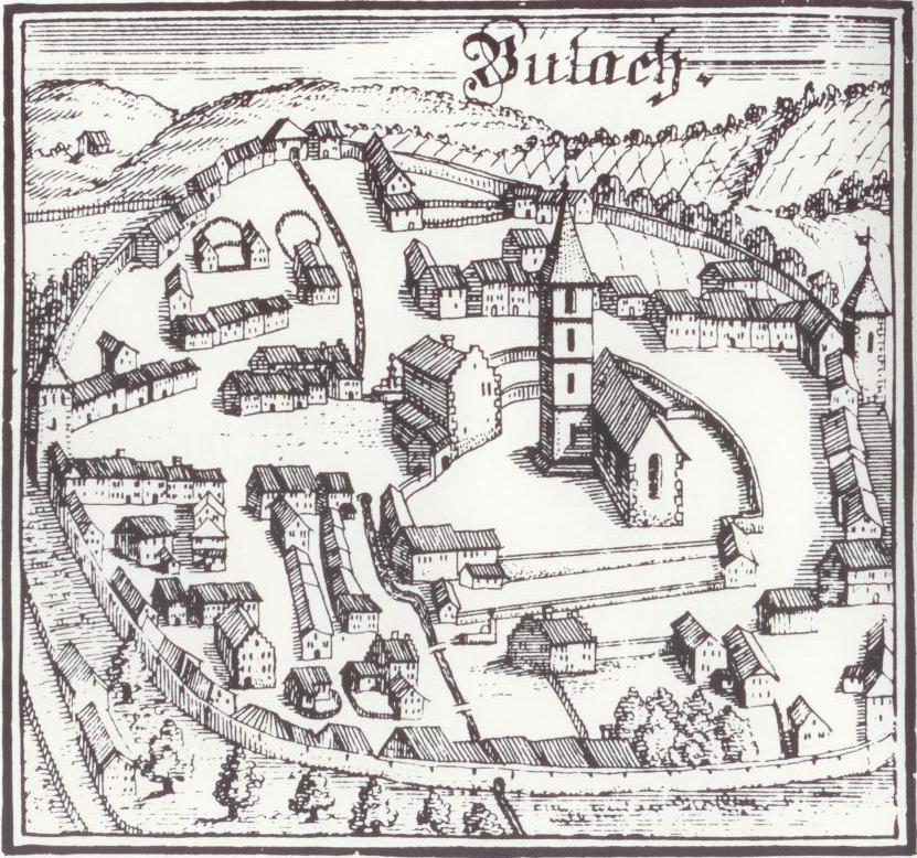 Bülach um 1703