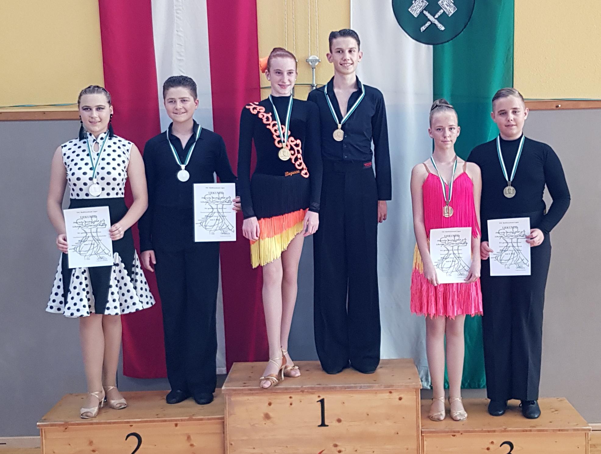 Junioren II Latein D - Steirischer Meister Alexander Fandl/Livia Strauss - Eleganza Köflach