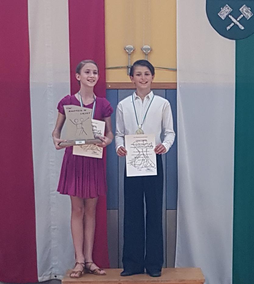Schüler Latein D - Steirischer Meister Dario Perner/Catherina Maria Mendlik - TSC academy of dance