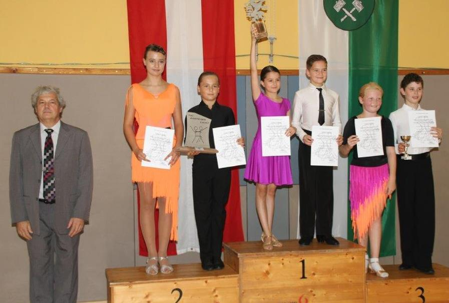 Junioren I Standard D - 1. Emma Darabos/Matyas Beke - Gala Te (Ungarn)