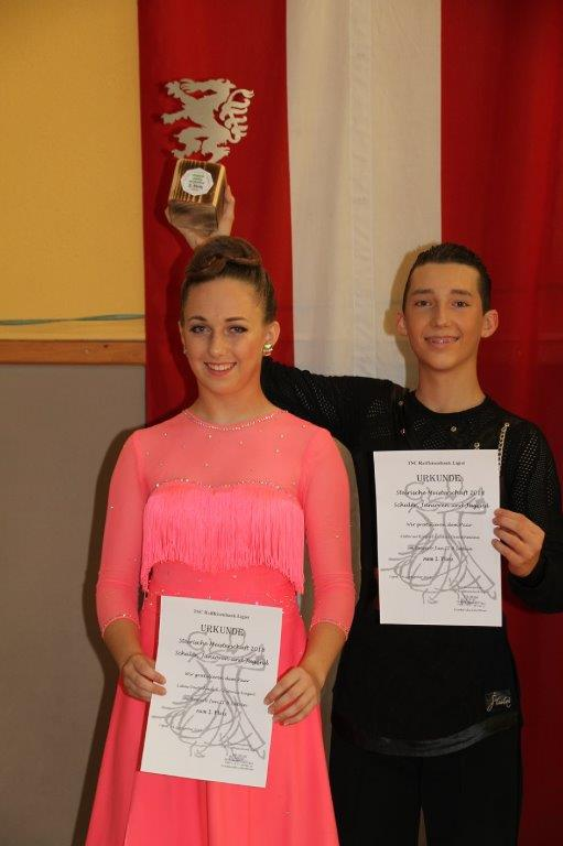 Junioren II Latein B - Steirischer Meister Lukas Deutschmann/Antonia Kiegerl TSC Burghof Voitsberg