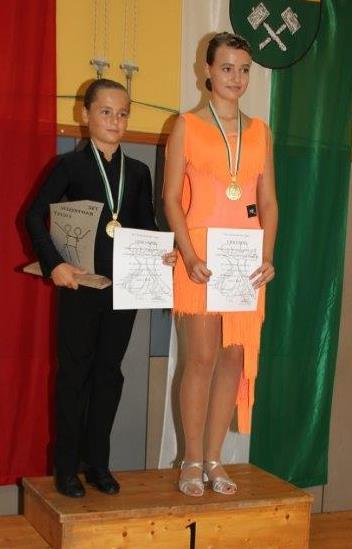 Junioren Standard D - Steirischer Meister Nick Taschwer/Lucie Taschwer - TSC Burghof Voitsberg