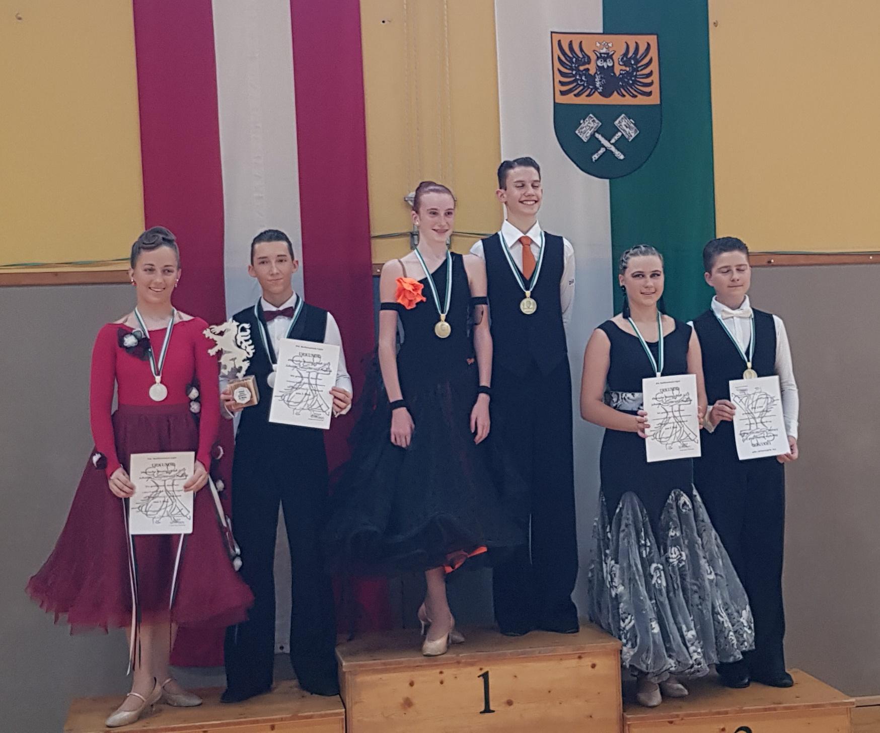 Junioren II Standard C - Steirischer Meister Alexander Fandl/Livia Strauss - Eleganca Köflach