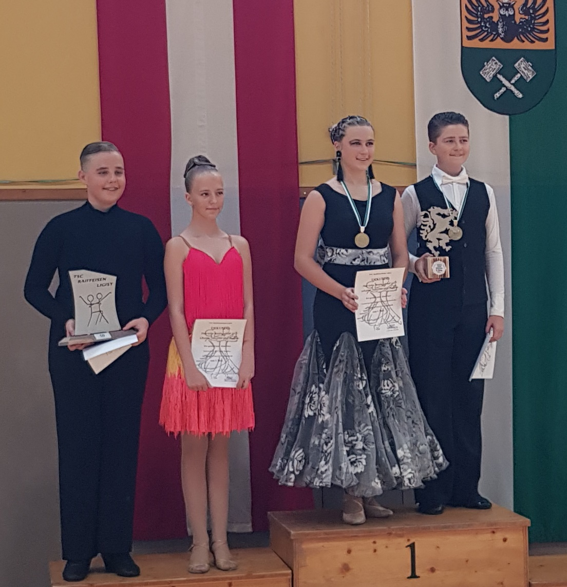 Junioren Standard D - Steirischer Meister Vincent Grabenhofer/Caroline Grabenhofer - TSC Burghof Voitsberg