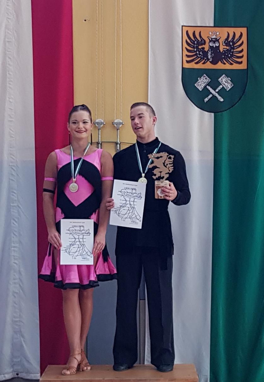 Jugend Latein C - Steirischer Meister Bastian Spari/Fabienne Spari - TSC Raiffeisenbank Ligist