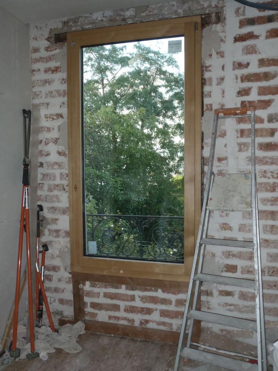 Fenêtre mélèze