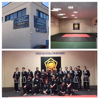 Escuela de artes marciales en Rivas