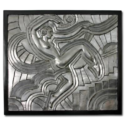 Mural Relief, Art Déco Wiesbaden Regine Schmitz-Avila