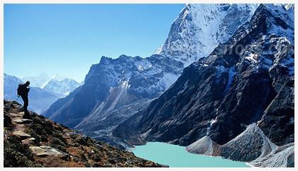 caminar per les muntanyes del Nepal i respirar solitud, pau, amor