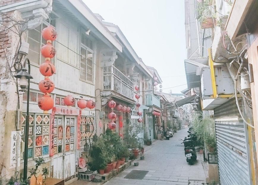 台南の神農街は本当に美しいのか?!行ってみた!