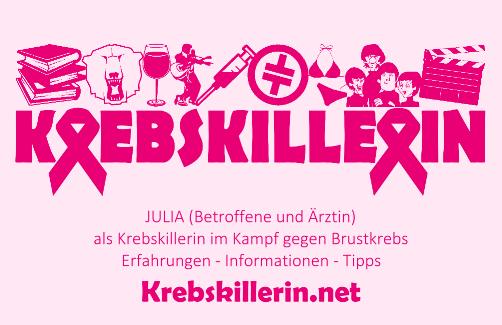 Visitenkarte: Krebskillerin.net