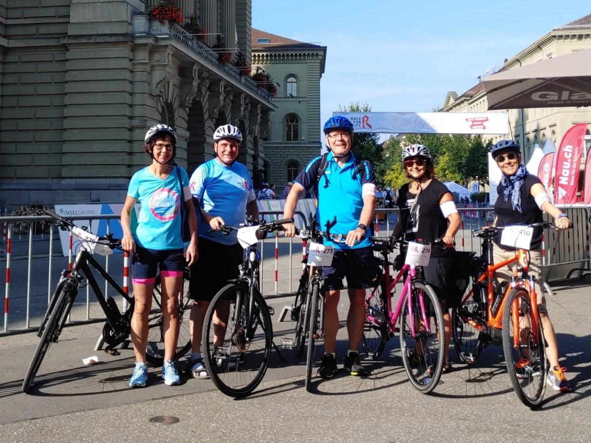 Das Krebskillerin-Team kurz vor dem Start