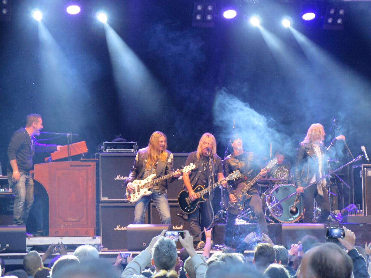 Die Rockband Gotthard