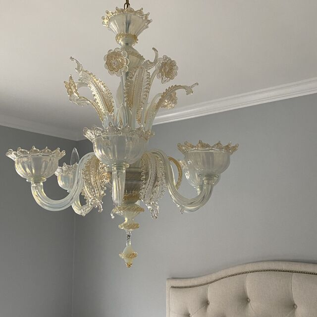 Why a Murano chandelier?