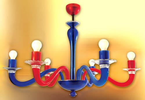 Modern Murano chandeliers